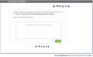 Vendor Insurance Compliance