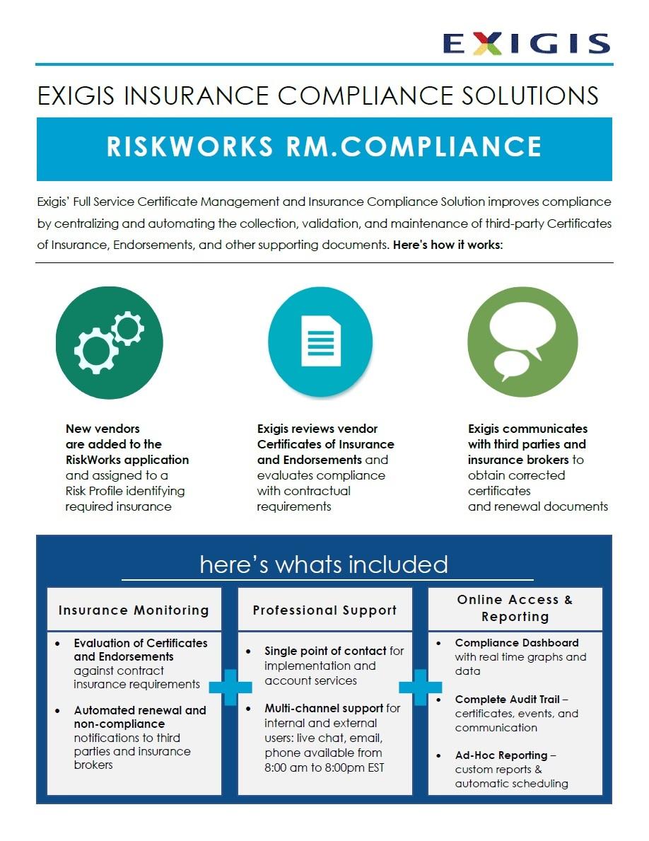 EXIGIS-Certificate-Of-Insurance-Management-Brochure